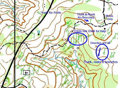 Control Descriptions and Map Symbols Explained | Backwoods